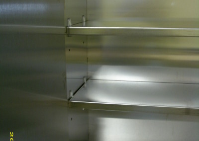 stainless steel interior