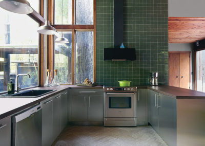 stainless steel kitchen lower cabinets