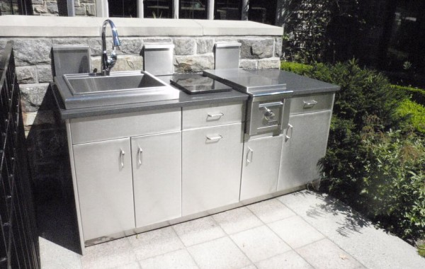 Stainless Steel Outdoor Kitchen Cabinets Steelkitchen