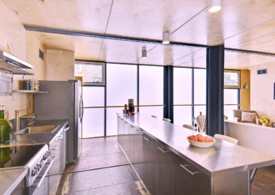 stainless steel kitchen in DC