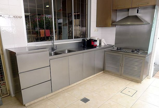 metal outdoor kitchen cabinets stainless steel outdoor kitchens steelkitchen 7472