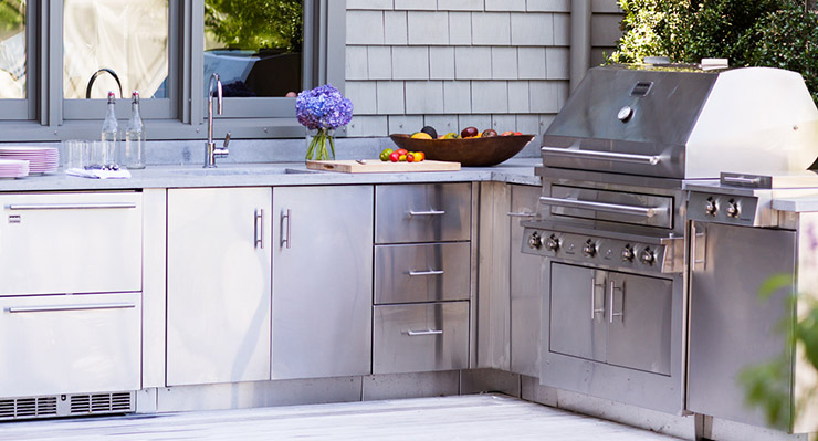 stainless steel cabinet doors for outdoor kitchen stainless steel outdoor kitchens steelkitchen 9778