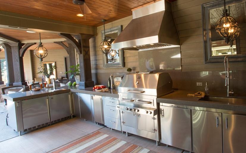 Stainless Steel Outdoor Kitchens | SteelKitchen