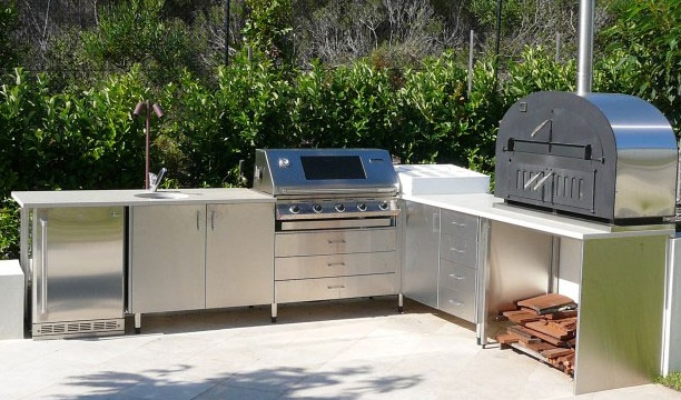 Stainless Steel Outdoor Cabinets Kitchen