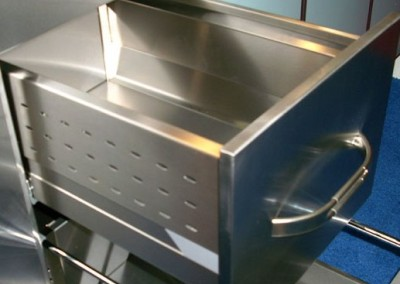 Stainless Steel Blum Deep Drawer