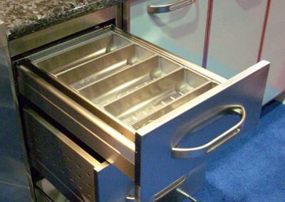 Stainless Steel Blum Drawer Divider