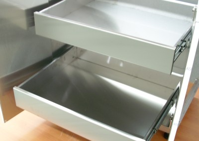 Stainless Steel Pull Out Shelves