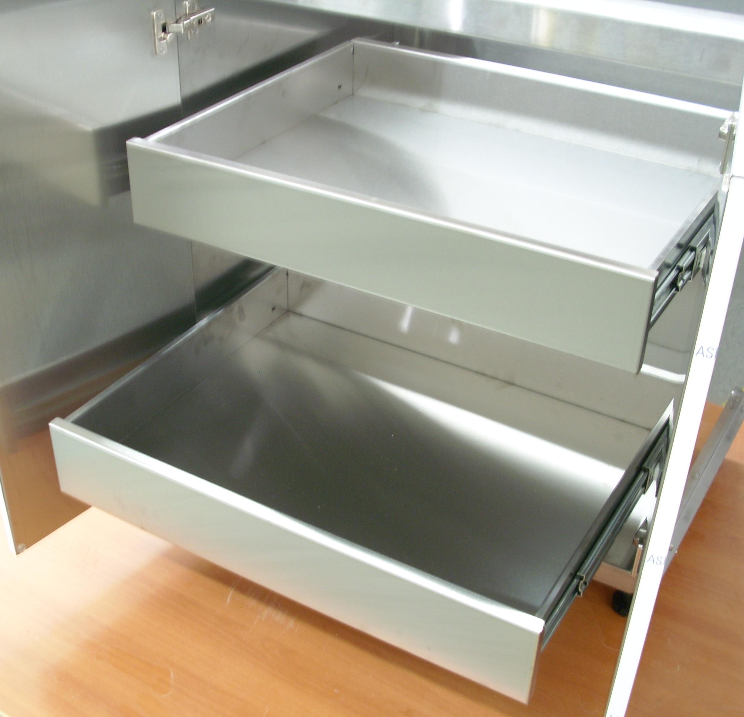 Stainless Steel Countertops And Cabinet Doors Steelkitchen