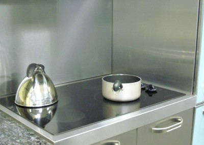Stainless Steel C-Top and Backsplash