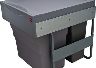Double Bin Easy Cargo Roll Out Waste Bins