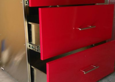 Powder Coated Cabinets
