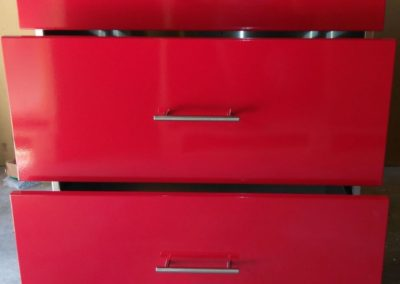 Powder Coated Cabinet Fronts