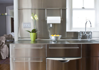 stainless steel Kitchenette