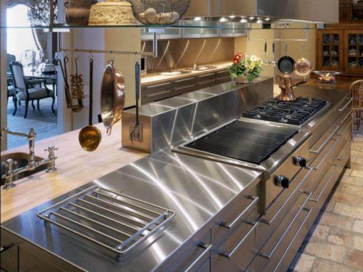 Stainless Steel Counter Tops, Door Styles & Accessories