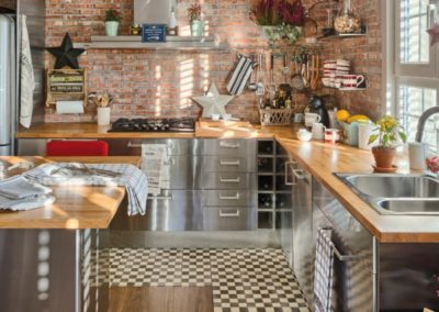 stainless steel contemporary cabinets