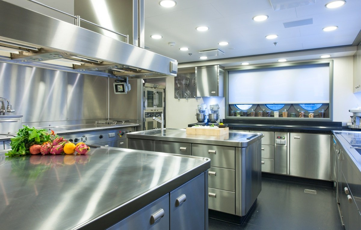 Stainless Steel Commercial Kitchens