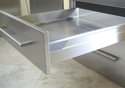 Stainless Steel Blum Undermount Drawer