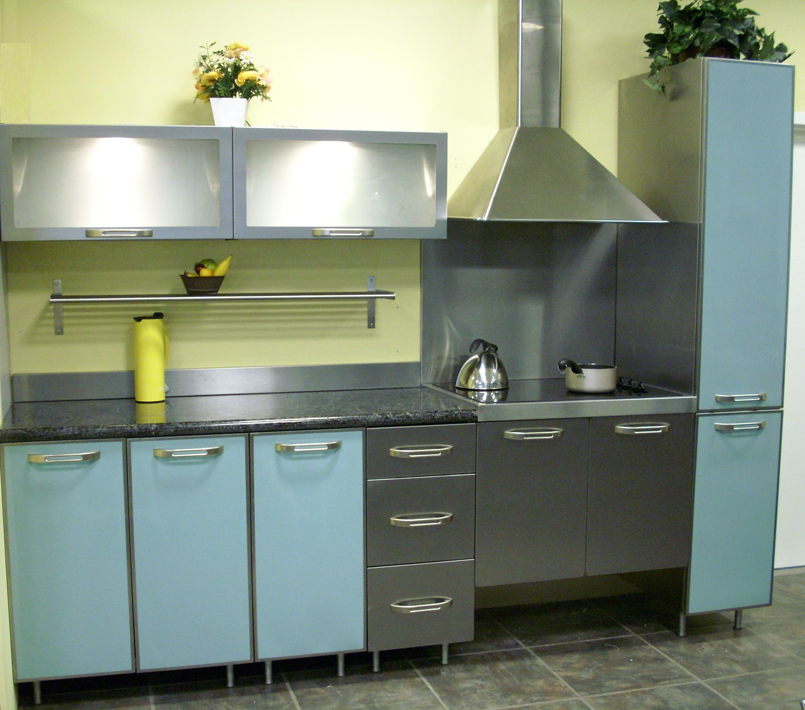 Stainless Steel Vintage Kitchen