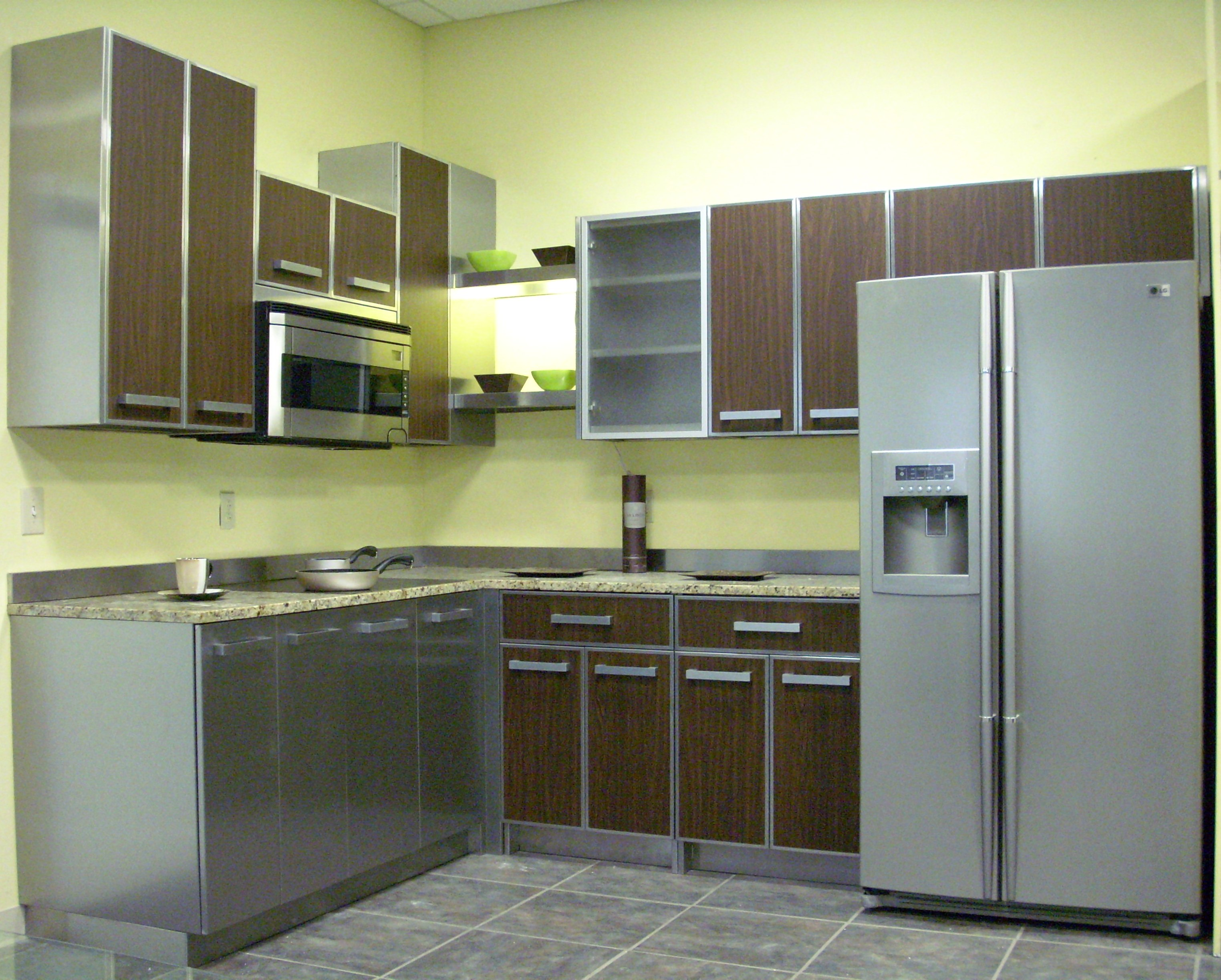 Stainless Steel Classic Kitchen