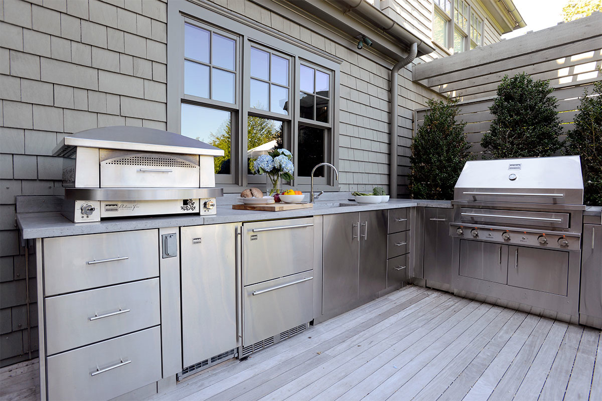 Stainless Steel Outdoor Kitchens