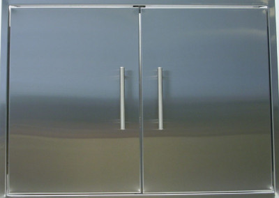 Stainless Steel Slab Door