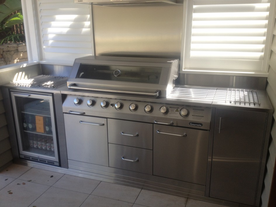 Stainless Steel Outdoor Kitchen 23