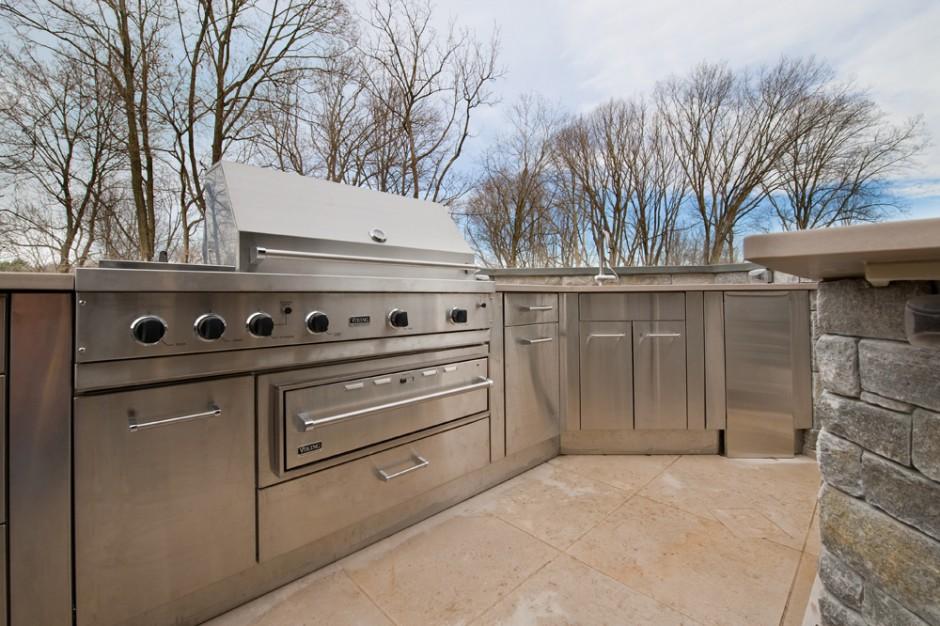 Stainless Steel Outdoor Kitchen Cabinets | SteelKitchen