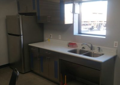 stainless steel ada compliance sink cabinet