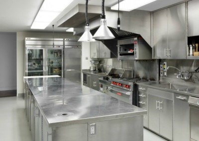 Stainless Steel Commercial Kitchen 1