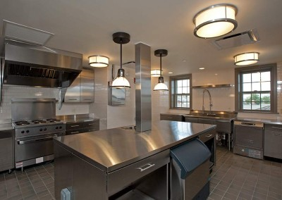 Commercial Stainless Steel Kitchen