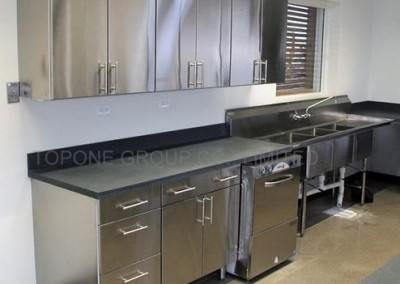 Stainless Steel Office Kitchen