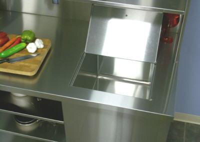 Stainless Steel Restaurant Cart