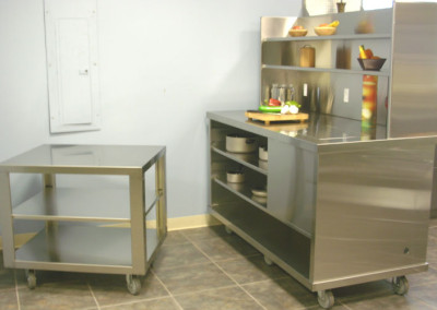 Stainless Steel Restaurant Set