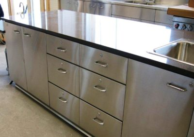 metal base cabinets