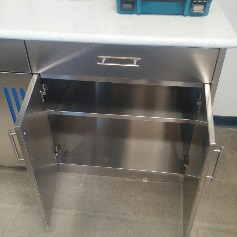 Stainless Steel Kitchen Cabinet Specification And Technical Sheets