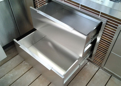 stainless steel drawer inserts