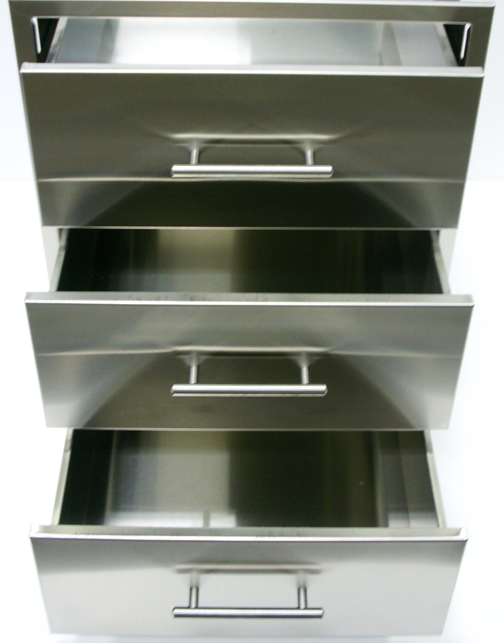 Stainless Steel Drawers