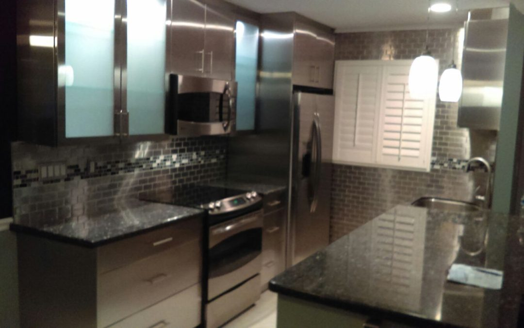 Steel Kitchen Corp. work at Fort Lauderdale residence