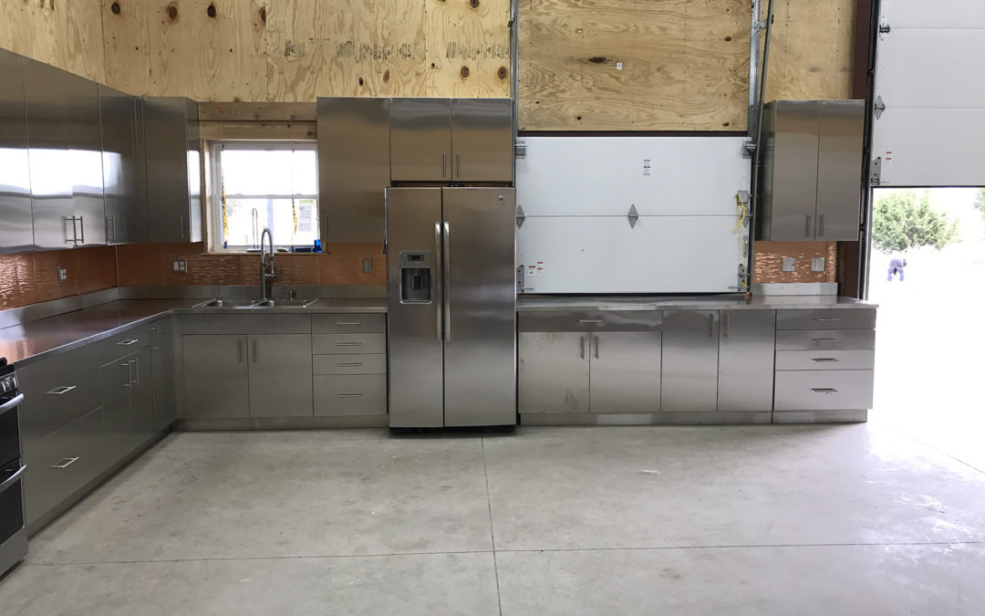 Commercial Kitchen in Cleburne Texas by Steel Kitchen Corp.