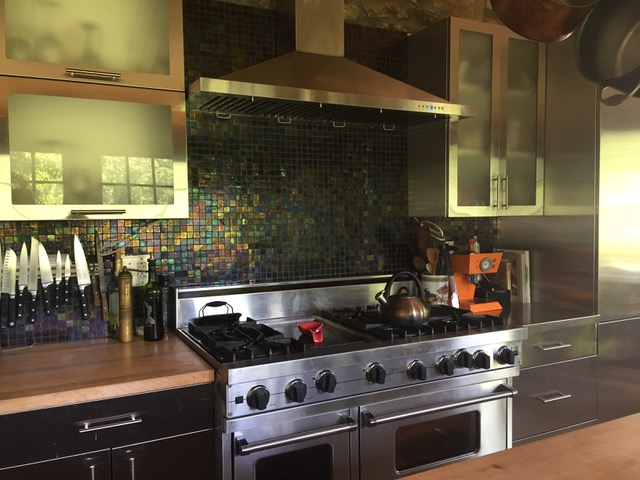 Residential Stainless Steel Kitchen in Birchrunville PA