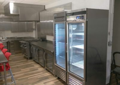 Stainless Steel Fire Station Kitchen Cabinets