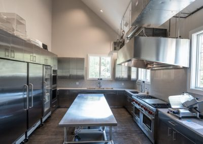 Stainless Steel Catering Kitchen