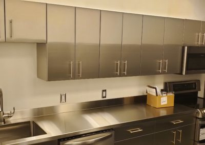 stainless steel kitchen Break Room
