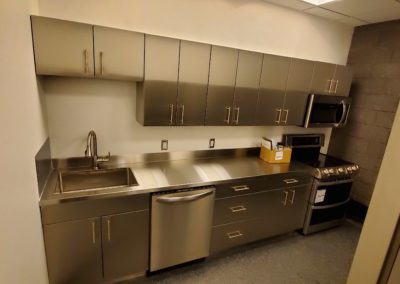 Stainless Steel Break Room