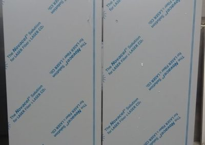 ADA full height doors with integral toe kick
