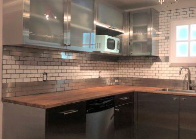 Residential S. Steel Kitchen