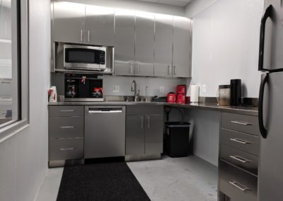 stainless steel kitchen office